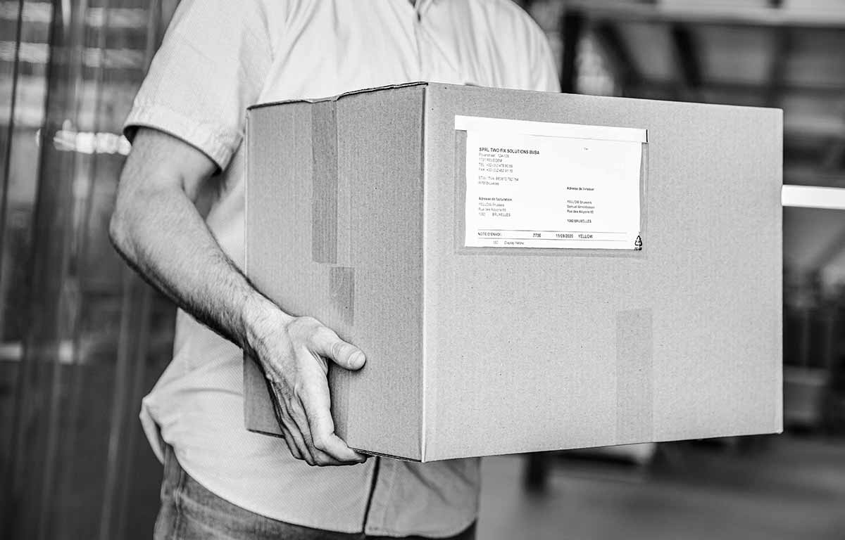 TwoFixSolutions Packaging Solutions Livraison